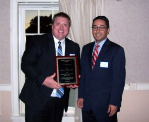 2014-Criscuolo-Award-Recipient-Ethan-Ordog-with-President-Lai SM