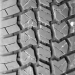 Background of the tire tread