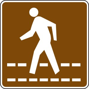 Pedestrian sign 2