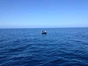 The Stranded Boaters Awaiting Help