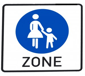 mom pedestrian