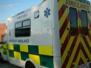 ambulance white