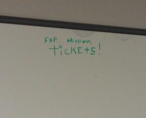 FHP bulletin board